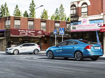Компания Volvo построила город для автомобилей