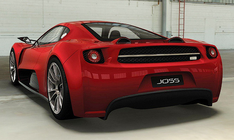Фирма Joss соберет средства на 570-сильный суперкар на Kickstarter