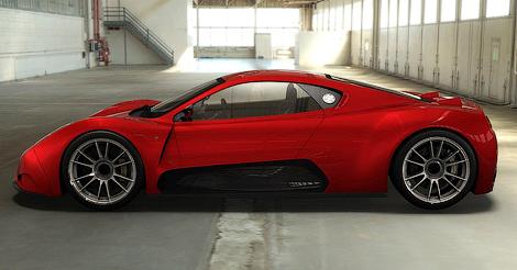 Фирма Joss соберет средства на 570-сильный суперкар на Kickstarter. Фото 1