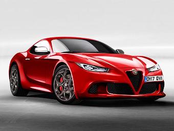 Alfa Romeo разработает конкурента Jaguar F-Type