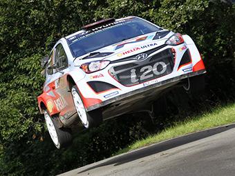 Команда Hyundai впервые выиграла гонку чемпионата мира по ралли