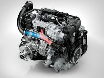 Модели Volvo перейдут на трехцилиндровые моторы