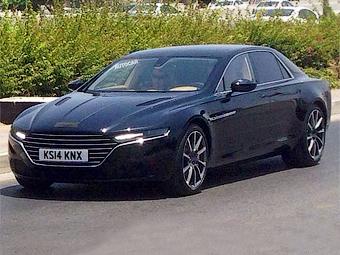 Большой седан Aston Martin сфотографировали без камуфляжа