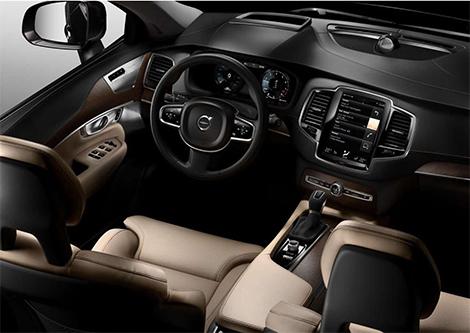 Продажи нового XC90 начнутся весной 2015 года. Фото 4