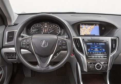 Стали известны подробности о российской версии седана Acura TLX. Фото 1