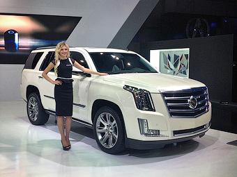 До России добрался новый Cadillac Escalade