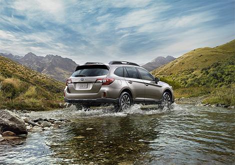 Компания Subaru привезла в Москву прототип Outback нового поколения