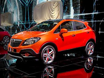 Opel построил «московскую» версию кроссовера Mokka