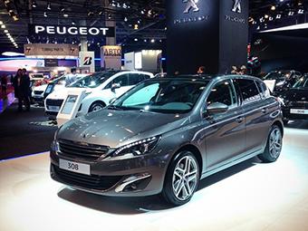 Новый Peugeot 308 оценили в 779 тысяч рублей