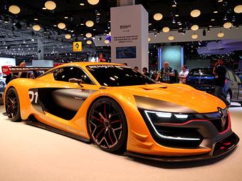 Новый гоночный Renault оснастили мотором от Nissan GT-R