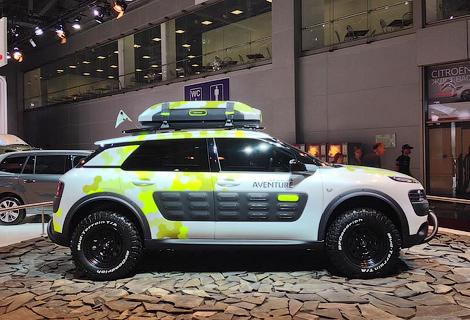 Французы привезли в Москву прототип C4 Cactus Aventure