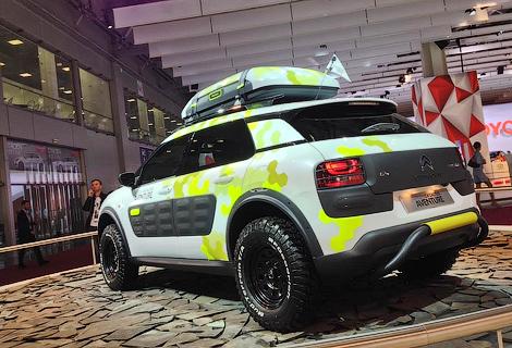 Французы привезли в Москву прототип C4 Cactus Aventure. Фото 1