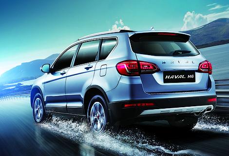 Китайская компания показала на Московском автосалоне шесть машин