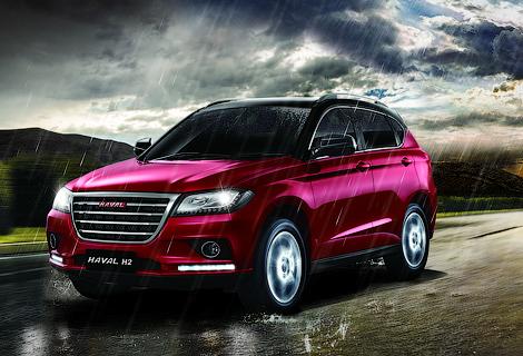 Китайская компания показала на Московском автосалоне шесть машин. Фото 1