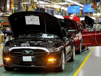 Ford запустил серийное производство нового «Мустанга»
