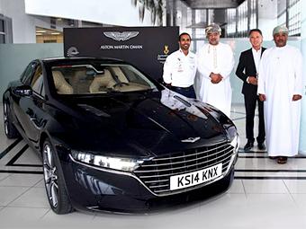 Арабы показали предсерийную версию Aston Martin Lagonda