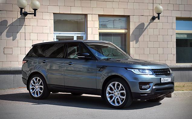 Длительный тест Range Rover Sport: часть первая