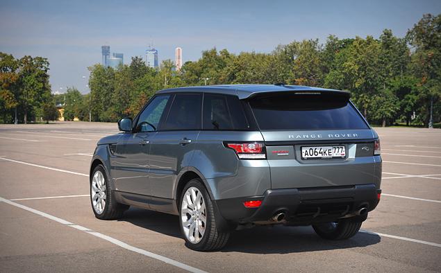 Длительный тест Range Rover Sport: часть первая. Фото 5