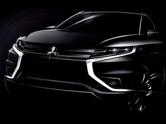 Mitsubishi построит «спортивный» гибрид Outlander