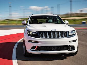 «Заряженный» Jeep Grand Cherokee стал мощнее