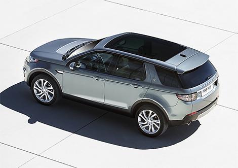 Семейство Land Rover Discovery выросло вдвое
