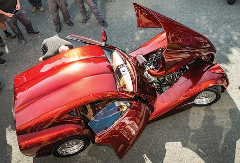 Машину собрали в единственном экземпляре для работавшего в Африке бизнесмена. Фото 1
