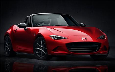 Новая Mazda MX-5 стала на 100 килограммов легче