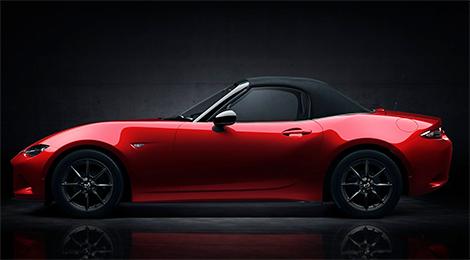 Новая Mazda MX-5 стала на 100 килограммов легче. Фото 2