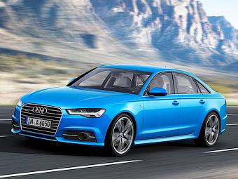 Audi добавила семейству A6 матричные фары
