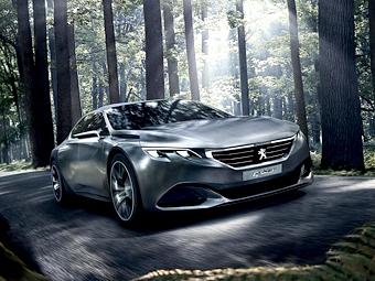 Peugeot привезет в Париж «акулий» концепт с электроскутером