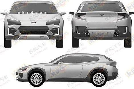 Новую модель Subaru создадут в стилистике концепт-каров Viziv. Фото 1