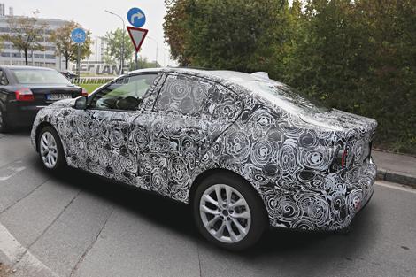 """""""Копейка"""" BMW с кузовом """"седан"""" появится в 2017 году"""