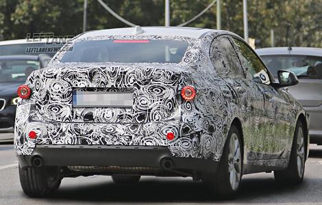 """""""Копейка"""" BMW с кузовом """"седан"""" появится в 2017 году. Фото 3"""