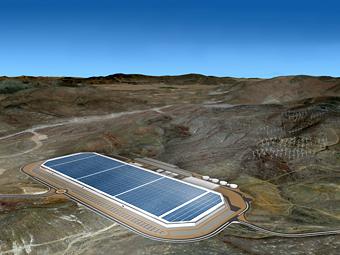 """Tesla построит """"Гигафабрику"""" в пустыне Невады"""