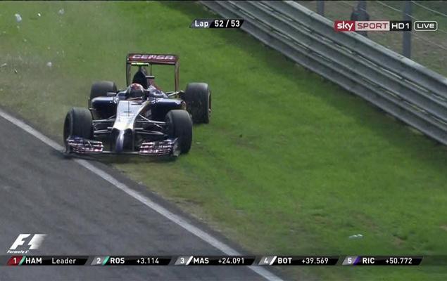 Онлайн-трансляция тринадцатого этапа  Формулы-1 2014 года