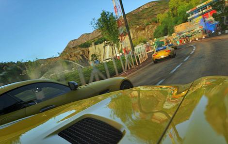 Суперкар AMG GT появится в октябре в гоночном симуляторе Driveclub