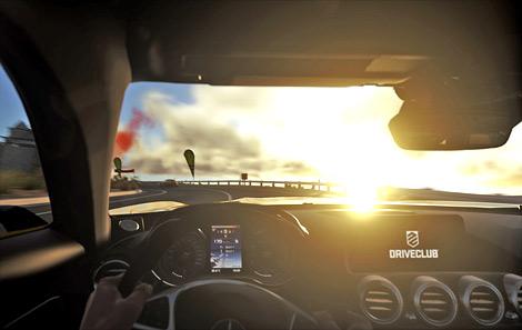Суперкар AMG GT появится в октябре в гоночном симуляторе Driveclub. Фото 1