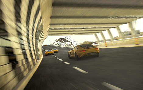 Суперкар AMG GT появится в октябре в гоночном симуляторе Driveclub. Фото 2