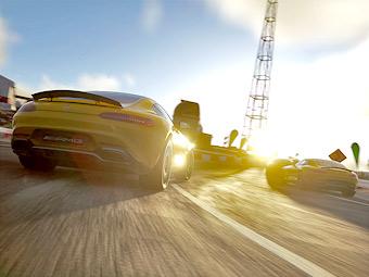 Суперкар AMG GT появится в октябре в гоночном симуляторе Driveclub. Фото 3