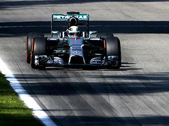 Хэмилтон опередил Росберга на Гран-при Италии