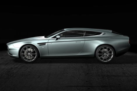 """Итальянцы создали спецверсию модели Virage с кузовом """"Shooting Brake"""""""
