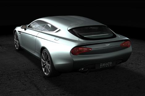 """Итальянцы создали спецверсию модели Virage с кузовом """"Shooting Brake"""". Фото 1"""