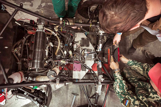 «Мотор» побывал нароссийском этапе «Формулы-Студент». Фото 1