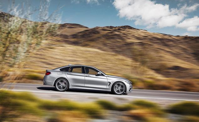 Тест-драйв пятидверного купе BMW 4-Series Gran Coupe, отчаянно похожего на седан. Фото 4