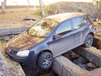 Треть ДТП в России произошла из-за плохих дорог