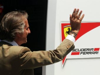 Лука ди Монтеземоло покинул пост президента Ferrari