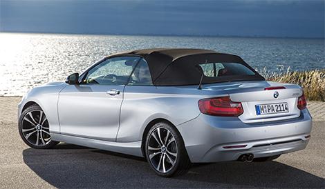 Публичный показ кабриолета BMW 2-Series состоится в Париже