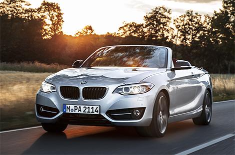 Публичный показ кабриолета BMW 2-Series состоится в Париже. Фото 3