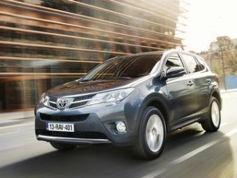 В России появился «дешевый» Toyota RAV4 с дизелем