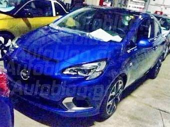 Новый хот-хэтч Opel Corsa сфотографировали без камуфляжа